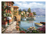 Villa de Lago Prints by Sung Kim