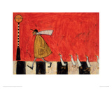 Crossing With Ducks Reproduction procédé giclée par Sam Toft