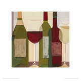 The Wine Collection Giclee Print by Julia Hawkins