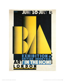 Exhibition of British Industrial Art in the Home Giclee Print by Austin Cooper