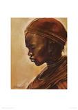 Masai Woman II Giclee Print by Jonathan Sanders