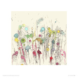 Flowers 32 Giclee Print by Moose Allain