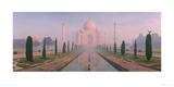 Le Taj Mahal et l'aigle, Agra, Inde Reproduction procédé giclée par Macduff Everton