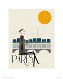 Paris Giclee Print by Blanca Gomez