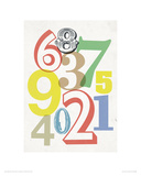 Small Numbers Giclee Print by Anthony Peters