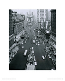 Broadway and 7th Avenue at Times Square, New York Giclee Print by Alfred Gescheidt