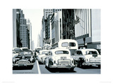 Heavy Traffic Giclee Print by Alain Bertrand