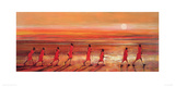 Samburu Sunset Giclee Print by Jonathan Sanders