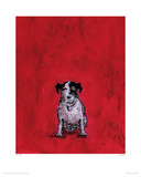 Small Dog Giclee Print by Sam Toft