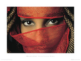 Veiled Tunisian Woman Giclee Print by Matthias Stolt