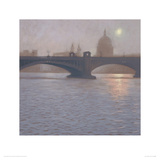 Southwark Bridge Reproduction procédé giclée par Mark Harrison