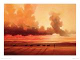Turkana Shoreline Giclee Print by Jonathan Sanders