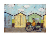 Off For A Breakfast Giclee Print by Sam Toft