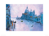 Grand Canal, Venice Giclee Print by Colin Ruffell