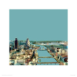 Thames Giclee Print by Christopher Farrell
