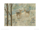 Winter Tale, Deer No.4 Giclee Print by Naoko Stoop