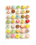 Cup Cakes Giclee Print by Howard Shooter