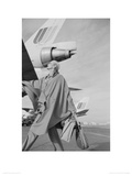 Carmen Dell Orefice, Planes c. Vogue 1970 Giclee Print by Norman Parkinson