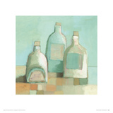 Still Life with Bottles I Giclee Print by Derek Melville