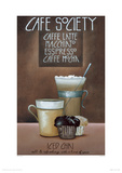 Café Society Giclee Print by Mandy Pritty