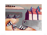 Harbour Inlet Giclee Print by Derek Melvile