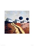 Hillside Path Giclee Print by Derek Melville