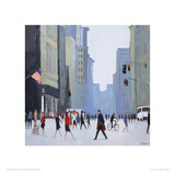 5th Avenue - New York Giclee Print by Jon Barker