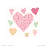 Lots of Love Giclee Print by Rachel Taylor