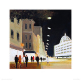 Late Shoppers - Harrods Giclee Print by Jon Barker