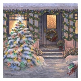 Welcome to Christmas Poster di Janet Kruskamp