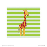 Nosey Giraffe Giclee Print by Catherine Colebrook