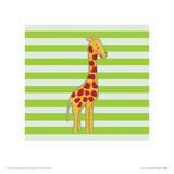 Nosey Giraffe Giclee Print by Catherine Colebrook
