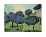 Sniffing The Lilac Giclee Print by Sam Toft