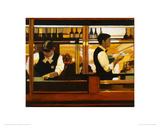 Valetta Café, A Study Giclee Print by Alexandra Gardner