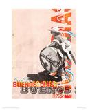 Buenos Dias Giclee Print by Kareem Rizk