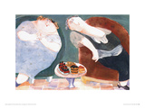 Inclined Towards Dessert Lámina giclée por Erika Oller