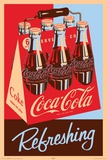 Coca Cola Refreshing 6 Pack Photo