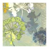 Wildflower Textures Print by Jan Weiss