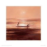 Sinking Sun Giclee Print by Jonathan Sanders