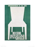 Der Stuhl (The Chair) Gicléedruk van Artur Bofinger