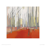 Italian Trees I Giclee Print by Charlotte Evans