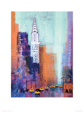 Manhattan Chrysler Building Giclee Print by Colin Ruffell