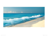 Breaking Wave, Cancun, Mexico Giclee Print by Jeremy Woodhouse
