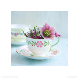 A Cupful of Flowers Giclee Print by Howard and Lauren Shooter and Floodgate