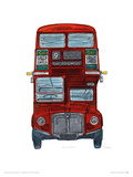 Routemaster Giclee Print by Barry Goodman