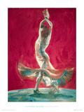 Flowing Dress Giclee Print by Fletcher Sibthorp