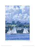 Sailing, Falmouth I Giclee Print by Robert Jones