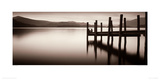 Landing Stage, Derwent Water Giclee Print by Mike Shepherd