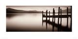 Landing Stage, Derwent Water Giclee Print by Mike Shepherd