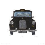 Taxi Giclee Print by Barry Goodman